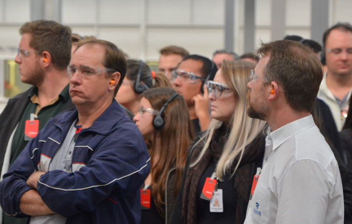 Fahor - Realiza visita técnica a fábrica, programação SEIF 2019
