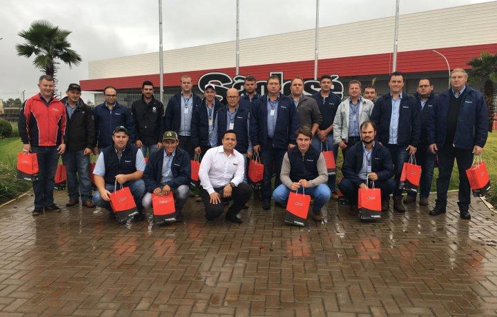 Visita técnica Coopermil Santa Rosa - RS