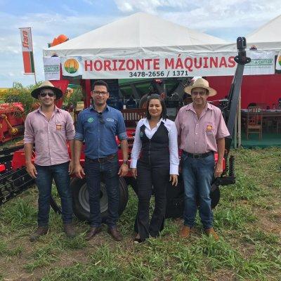 Feira de Canarana MT com o parceiros da Horizonte Máquinas